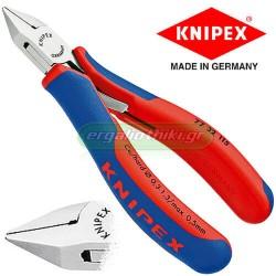 KNIPEX 7732115 Πλαγιοκόπτης 115mm ηλεκτρονικών