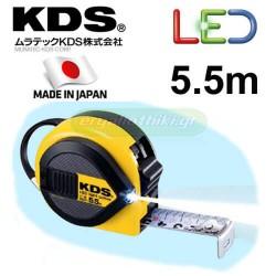 KDS Li 25-55 Μετροταινία 5.5m x 25mm με φακό Led Light Conve