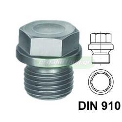 Τάπες κάρτερ εξάγωνο κεφάλι DIN 910 (επιλέγετε μέγεθος)