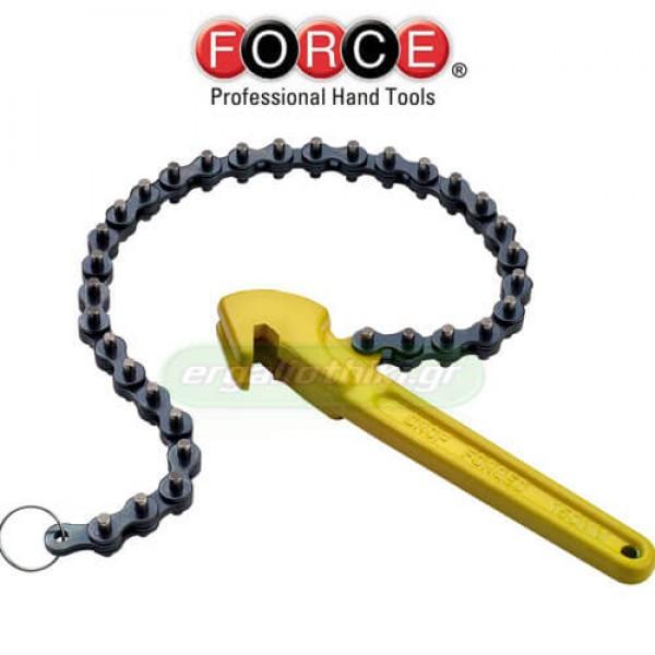FORCE TOOLS 61911 Φιλτρόκλειδο καδένας 110mm