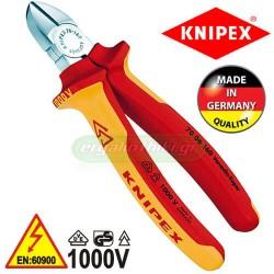KNIPEX 7006180 Πλαγιοκόπτης 180mm VDE 1000V