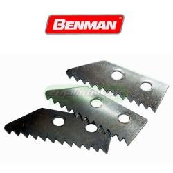 BENMAN TOOLS 70398 Ανταλλακτικές λάμες ξύστρας αρμών (3 τμχ)