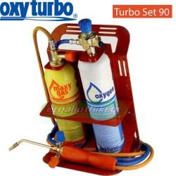 OXYTURBO TURBO SET 90 Επαγγελματικό μίνι σετ οξυγονοκόλλησης
