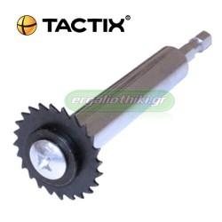 TACTIX 340225 Δίσκος εσωτερικής κοπής πλαστικών σωληνών