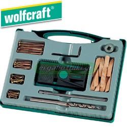 WOLFCRAFT 4642 000 Οδηγός τρυπήματος - κιτ ένωσης γωνιών