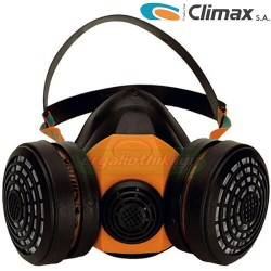 CLIMAX 756/A1 Μάσκα αερίων με δύο φίτλρα
