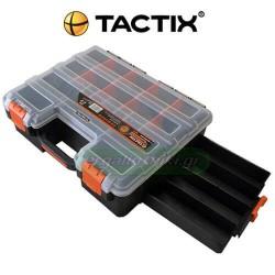 TACTIX 320043 Ταμπακιέρα - εργαλειοθήκη με συρτάρια
