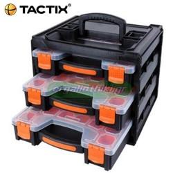 TACTIX 320040 Σετ ταμπακιέρες 3 τεμ σε θήκη μεταφοράς