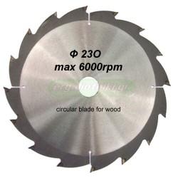 Δίσκος κοπής ξύλου Φ230 (για γωνιακό τροχό)