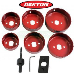 DEKTON DT45840 Ποτηροτρύπανα ξύλων - μετάλλων