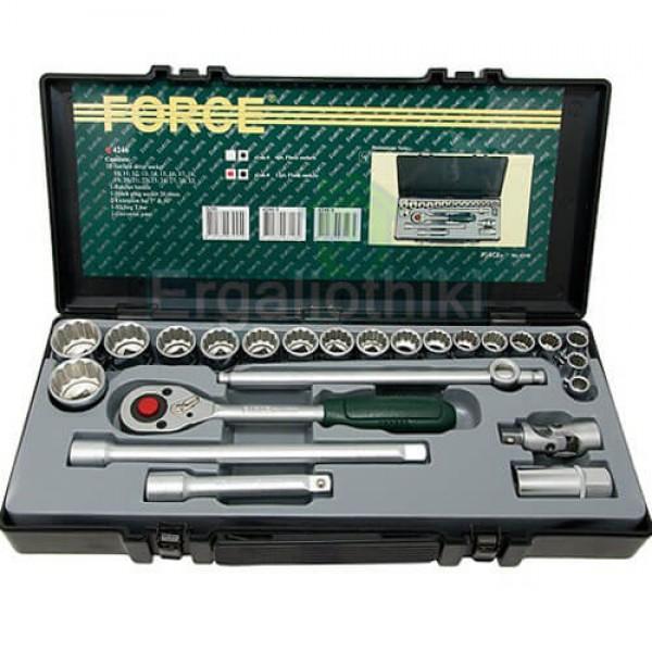 FORCE TOOLS 4246 S-9 Σειρά καρυδάκια 1/2 σε ίντσες